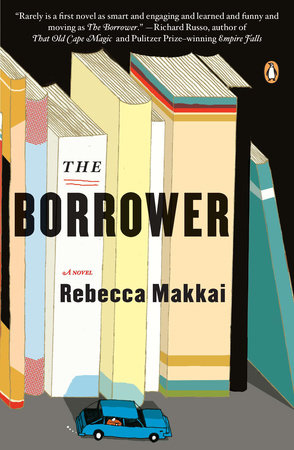 The cover of the book The Borrower