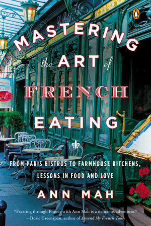 Mastering the Art of French Eating Book Cover Picture