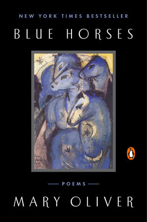 The cover of the book Blue Horses