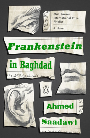 The cover of the book Frankenstein in Baghdad