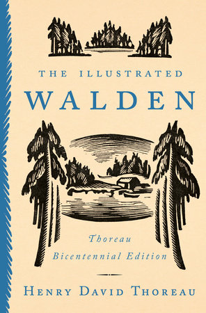The Illustrated Walden Book Cover Picture