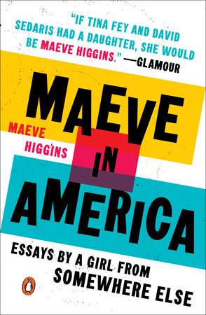 The cover of the book Maeve in America
