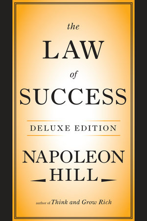 Image result for law of success napoleon hill