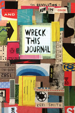 Wreck This Journal: Now in Color Book Cover Picture