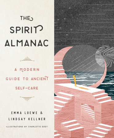 The cover of the book The Spirit Almanac