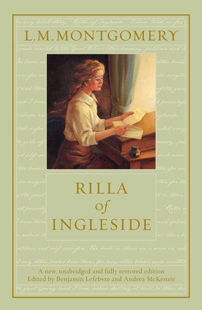 Rilla of Ingleside by L. M. Montgomery and Benjamin Lefebvre