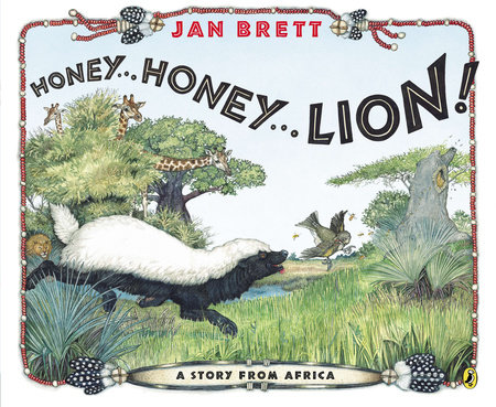 Honey... Honey... Lion! by Jan Brett
