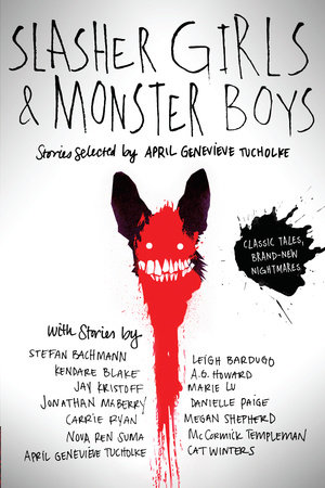 The cover of the book Slasher Girls & Monster Boys