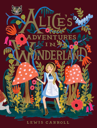 Image result for alice in wonderland lewis carroll book cover