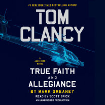 Tom Clancy True Faith and Allegiance Cover