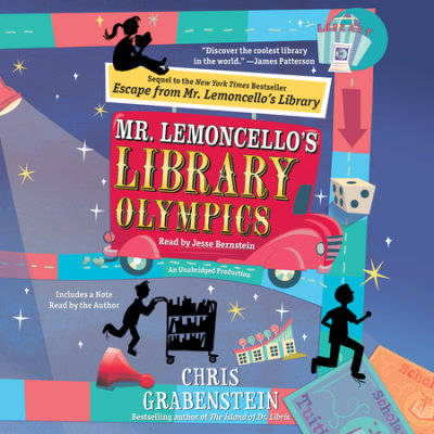 Mr. Lemoncello's Library Olympics cover