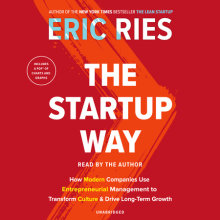 The Startup Way Cover