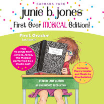 Junie B. Jones First Ever MUSICAL Edition! Cover
