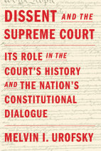 Dissent and the Supreme Court Cover