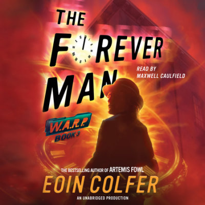 WARP Book 3 The Forever Man cover