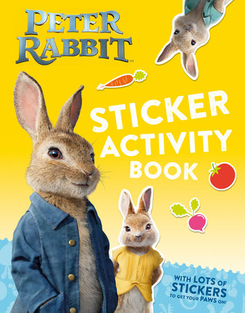 Peter Rabbit, The Movie Sticker Activity Book by Frederick Warne