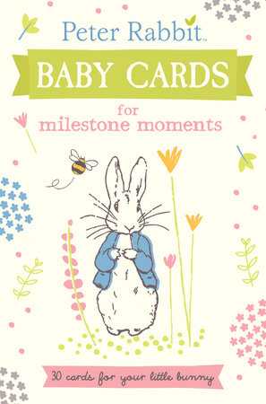 Peter Rabbit Baby Cards for Milestone Moments by Beatrix Potter