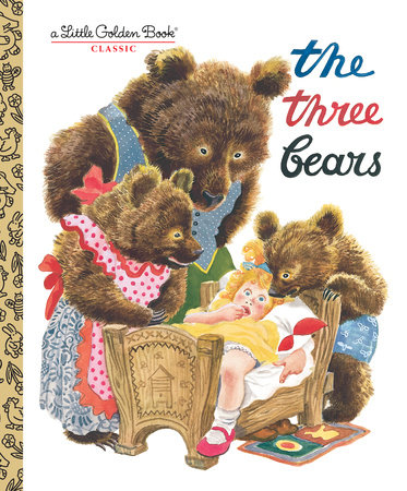 The Three Bears by Golden Books