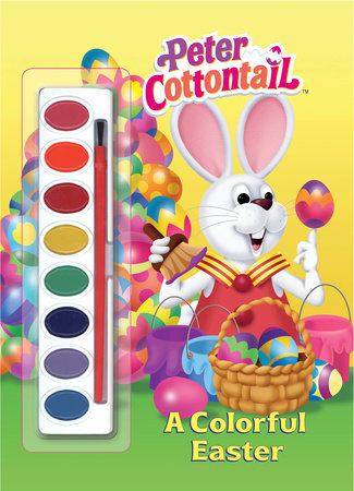 A Colorful Easter (Peter Cottontail) by Golden Books