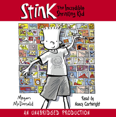 Stink: The Incredible Shrinking Kid cover