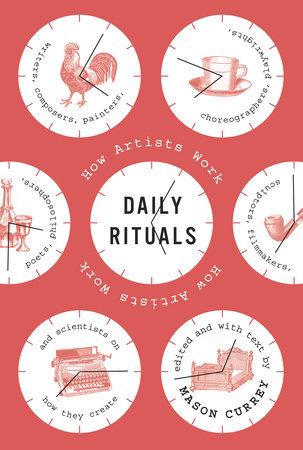 Daily Rituals Book Cover Picture