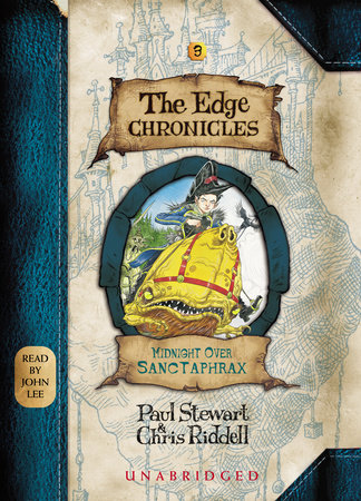Edge Chronicles 3: Midnight Over Sanctaphrax by Paul Stewart and Chris Riddell
