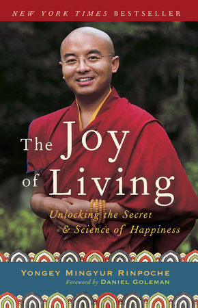 The Joy of Living Book Cover Picture