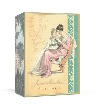 Jane Austen Note Cards by Potter Style