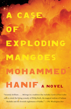 The cover of the book A Case of Exploding Mangoes