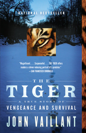 The cover of the book The Tiger