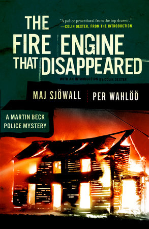 The Fire Engine that Disappeared by Maj Sjowall and Per Wahloo