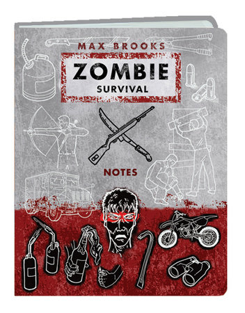Zombie Survival Notes Mini Journal by Max Brooks