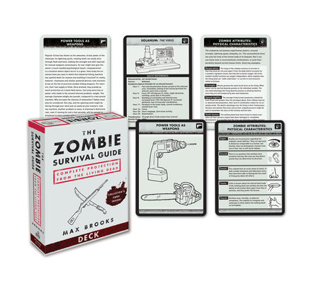 The Zombie Survival Guide Deck by Max Brooks