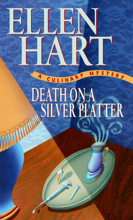 Death on a Silver Platter by Ellen Hart