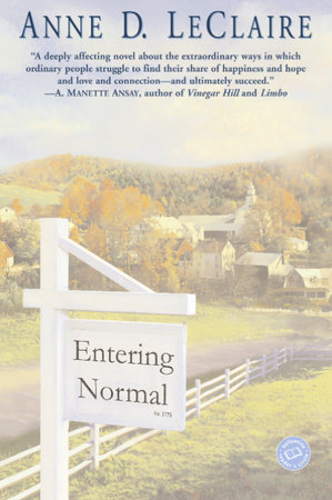 Entering Normal by Anne LeClaire