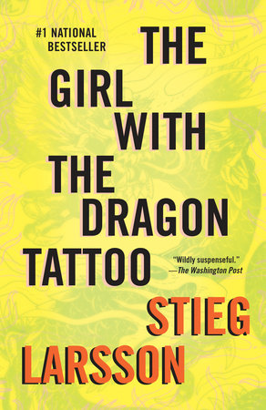 The Girl with the Dragon Tattoo Book Cover Picture