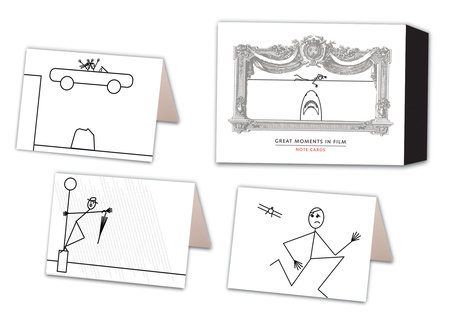 Great Moments in Film Note Cards by Jeffrey Metzner
