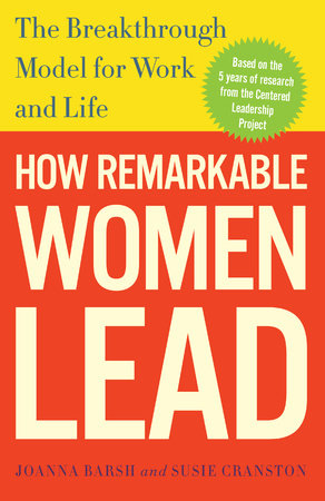 The cover of the book How Remarkable Women Lead