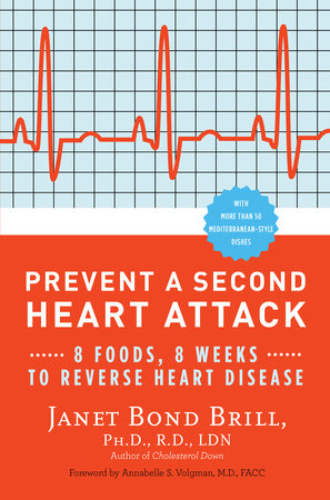 Prevent a Second Heart Attack by Janet Bond Brill, PhD, RD, LDN and Annabelle S. Volgman  M.D.
