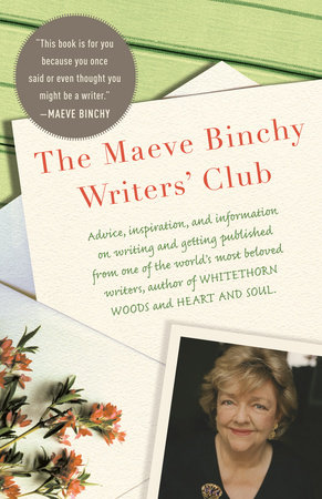 The Maeve Binchy Writers' Club Book Cover Picture