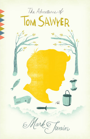 The cover of the book The Adventures of Tom Sawyer