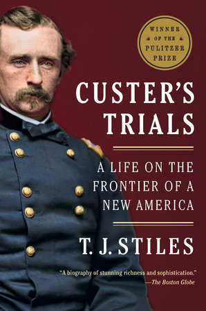 Custer's Trials Book Cover Picture