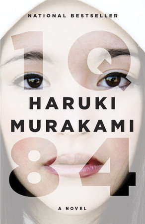 The cover of the book 1Q84