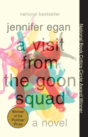 The cover of the book A Visit from the Goon Squad