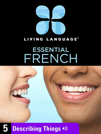 Essential French, Lesson 5: Describing Things
