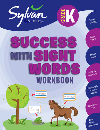 Kindergarten Success with Sight Words by Sylvan Learning