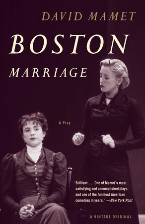 Boston Marriage by David Mamet