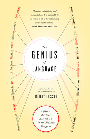 The Genius of Language by Wendy Lesser