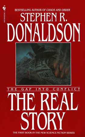 The cover of the book The Real Story