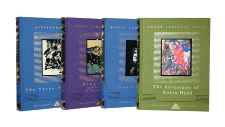 Adventures by Alexandre Dumas, Roger Lancelyn Green and Robert Louis Stevenson